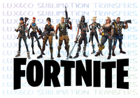 Fortnite Crew Sublimation Transfer