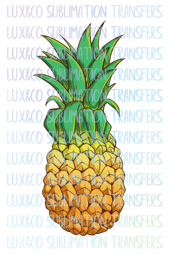 Pineapple Sublimation Transfer
