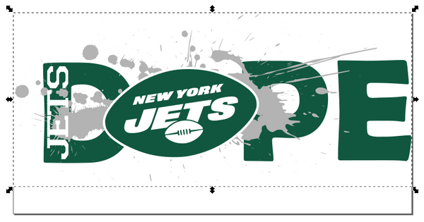 New York Jets Football DOPE SVG PNG Digital Design