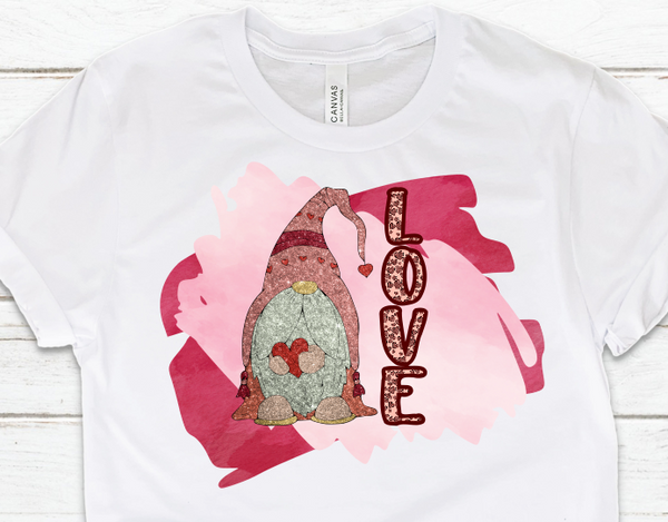 Gnome Love Sublimation Transfer