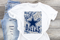 Dallas Cowboys Sublimation Transfer