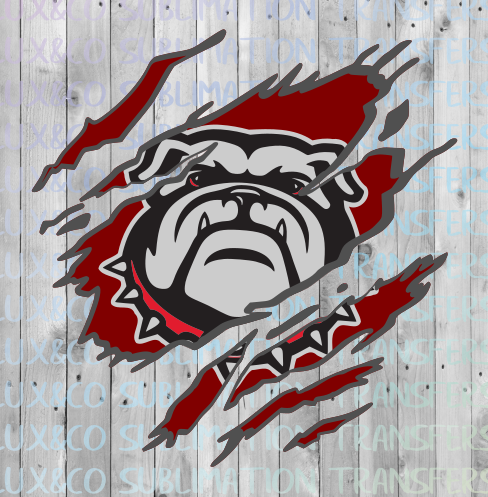 Bulldogs Claw SVG Digital Design