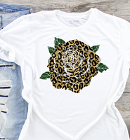 Cheetah Leopard Rose Sublimation Transfer