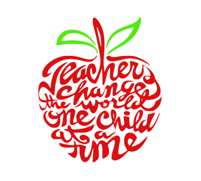 Teacher Apple  SVG File