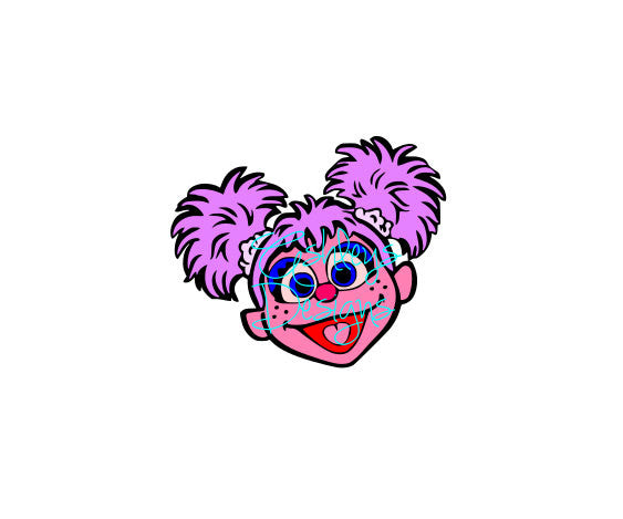Abby Cadabby Head SVG File