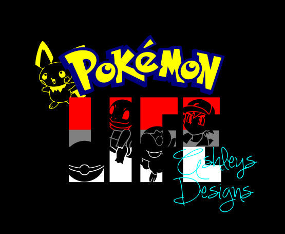 Pokemon Life Go  SVG  File