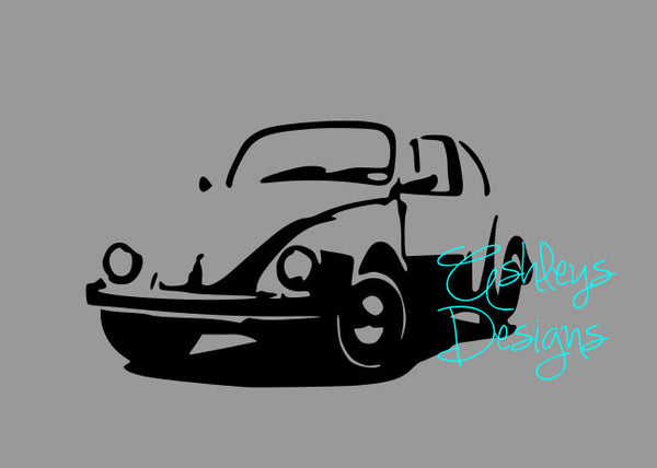 VW Beetle Bug Slug Bug SVG File