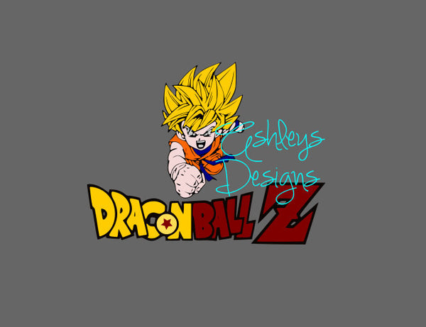 Goku DragonBall Z Svg FIle
