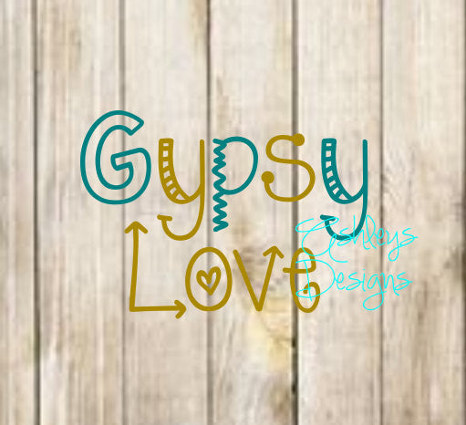 Gypsy Love SVG File