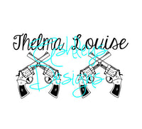 Thelma and Louise SVG File