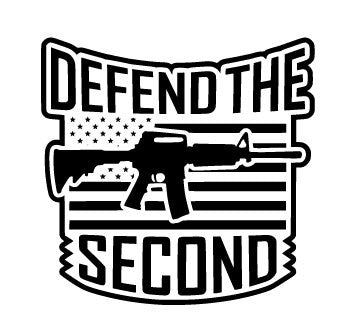 Defend the Second Gun American Flag SVG FIle