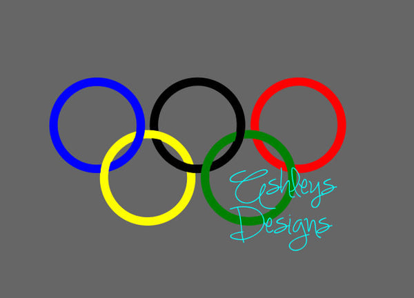 Olympic Rings SVG FIle