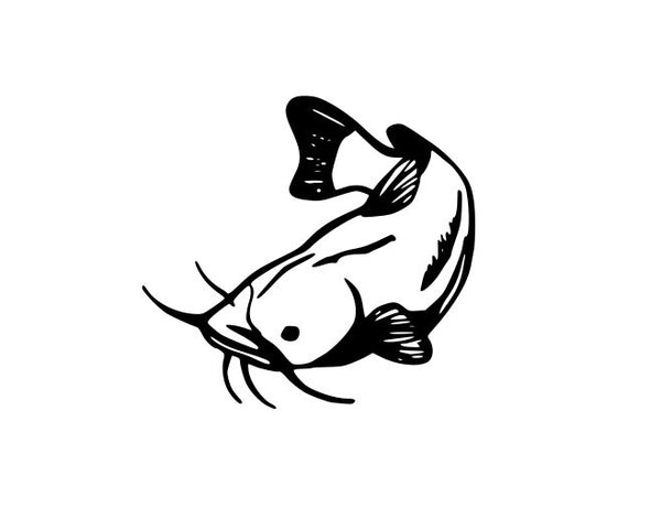 Catfish Outline SVg FIle