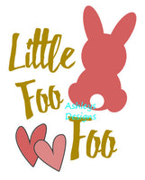 Little Bunny Foo Foo Easter SVG File