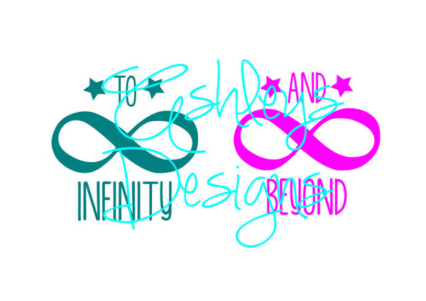 To Infinity and Beyond Logo SVG File