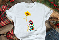 Mother of Nightmares 1 boy Sunflower Sublimation Transfer