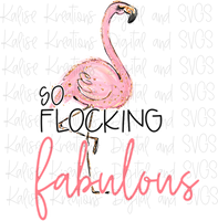 So Flocking Fabulous Sublimation Transfer