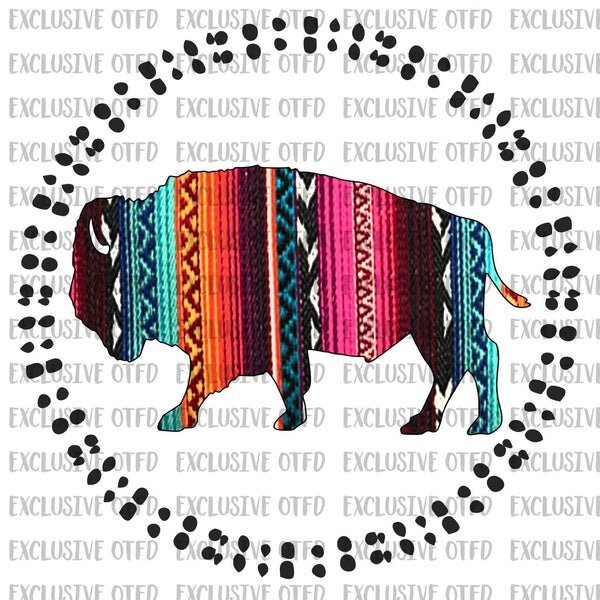 Tribal Buffalo Sublimation Transfer