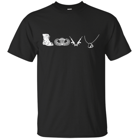 Airborne - Love Airbone Icon Together T-Shirt & Hoodie - SunGift.Co