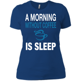 Coffee - A Morning Without Coffee Is Sleep T-Shirt & Hoodie