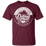 BL - story begin Detroit michigan T-Shirt & Hoodie