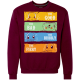 The Good, The Bad, The Bubbly,the Fiery Pokémon GO Shirts Ugly Christmas Sweater
