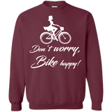 Bicycle - Don't Worry Bike Happy T-Shirt & Hoodie