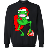 Frog Dressed As Santa Claus Shirts Ugly Christmas Sweater - SunGift.Co