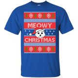 Meowy Christmas (3) T-Shirt & Hoodie Ugly Christmas Sweaters