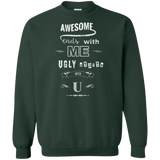 Awesome starts with me, Ugly starts with U Shirts Ugly Christmas Sweater
