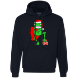 Frog Dressed As Santa Claus Shirts Ugly Christmas Sweater
