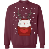 Cat Reindeer Shirts Ugly Christmas Sweater - SunGift.Co