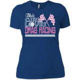 Drag Racing - The Girl Loves Drag Racing T-Shirt & Hoodie