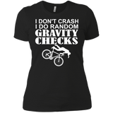 Cycling -  I Don't Crash, I Do Random Gravity Checks T-Shirt & Hoodie