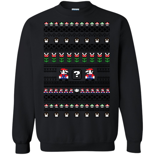 Mario Sweater Shirts Ugly Christmas Sweater