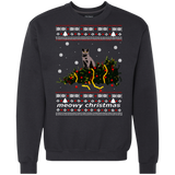 meowy christmas  cat ugly christmas sweater Shirts Ugly Christmas Sweater