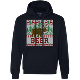 Deer & Bear meet for Beer Shirts Ugly Christmas Sweater - SunGift.Co