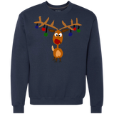 Cool Funny Rudolph Red Nosed Reindeer Christmas Art Shirts Ugly Christmas Sweater