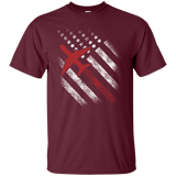Air Traffic Controller - Air Traffic Controller On American Flag T-Shirt & Hoodie - SunGift.Co
