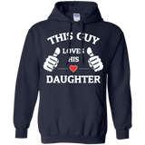 Daughter - This Guy Love His Daughter T-Shirt & Hoodie