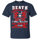Death - Death Greets Us All. My Enemies Received First T-Shirt & Hoodie