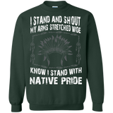 I Stand And Shout My Arms Stretched Wide Know I Stand With Native Pride T-Shirt & Hoodie