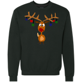 Cool Funny Rudolph Red Nosed Reindeer Christmas Art Shirts Ugly Christmas Sweater - SunGift.Co