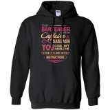 Bartender - The Bartender Runs On Caffeine And Sarcasm T-Shirt & Hoodie