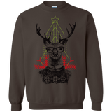 Christmas hipster deer Shirts Ugly Christmas Sweater