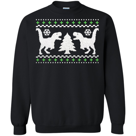 TRex Ugly Shirts Sweater Shirts Ugly Christmas Sweater