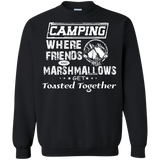 Camping Where Friends And Marshmallows Get Toasted Together T-Shirt & Hoodie