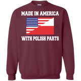 America With Polish - Made In America With Polish Parts T-Shirt & Hoodie