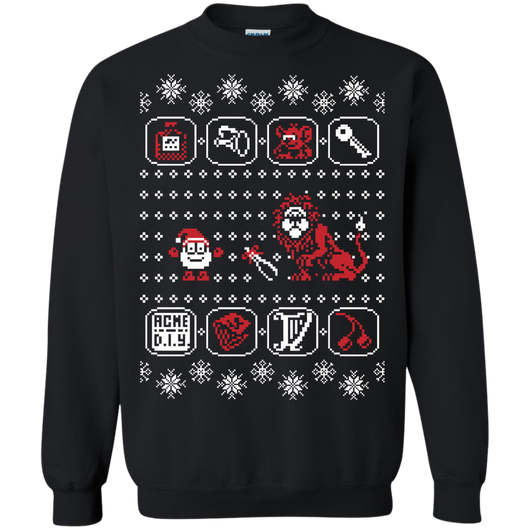 Santa of the Yolkfolk Shirts Ugly Christmas Sweater