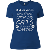 Cat Lover - Time Spent With My Cats T-Shirt & Hoodie
